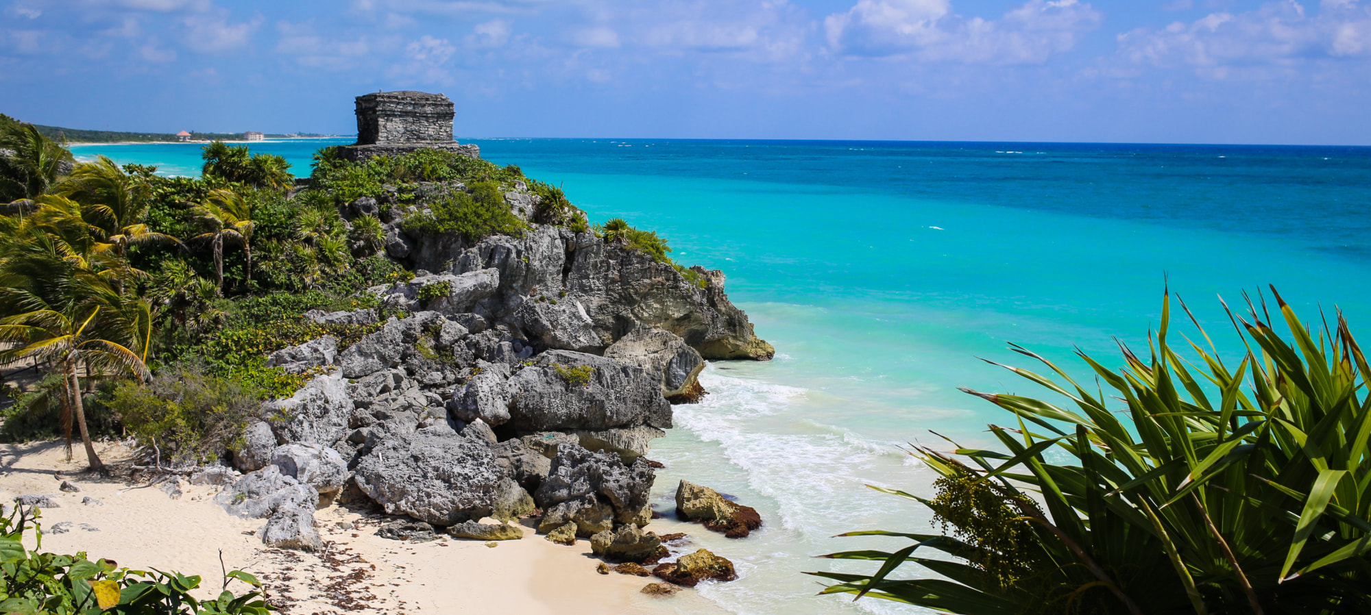 Getting to Tulum, Mexico