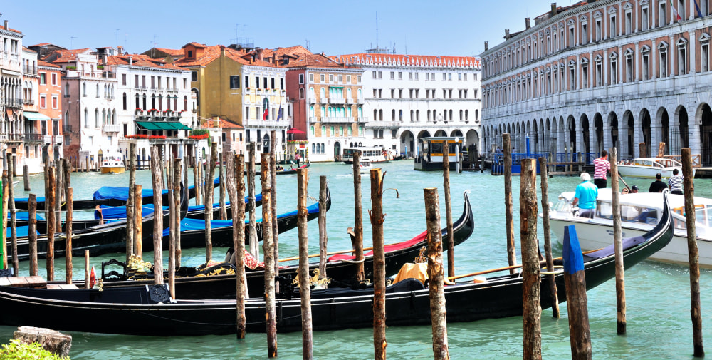 Getting to Venice, Italy