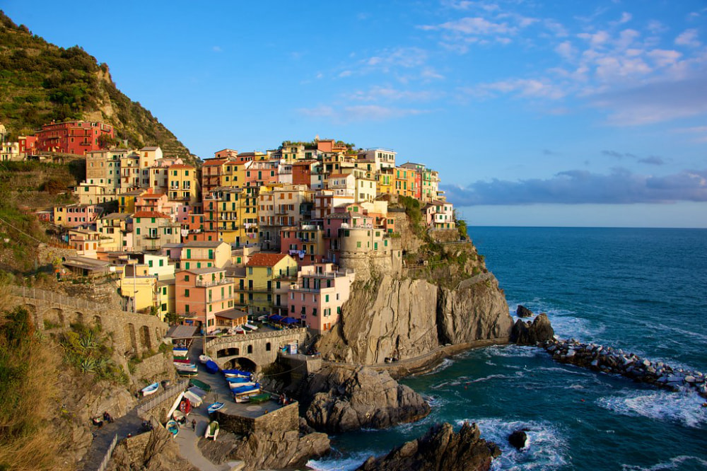 Getting to Cinque Terre, Italy