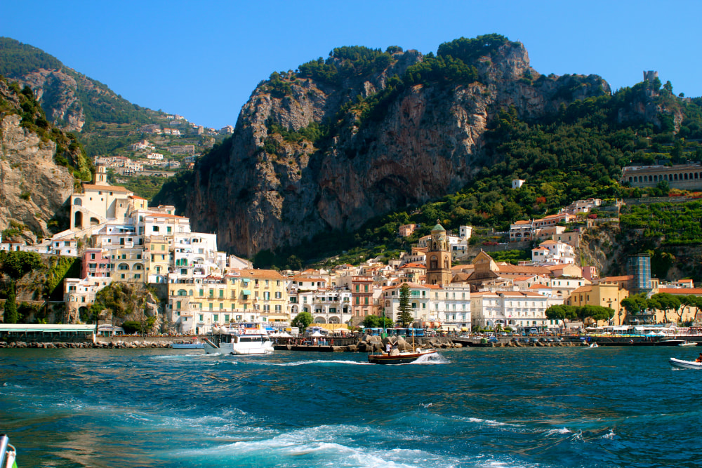 Getting to The Amalfi Coast, Italy