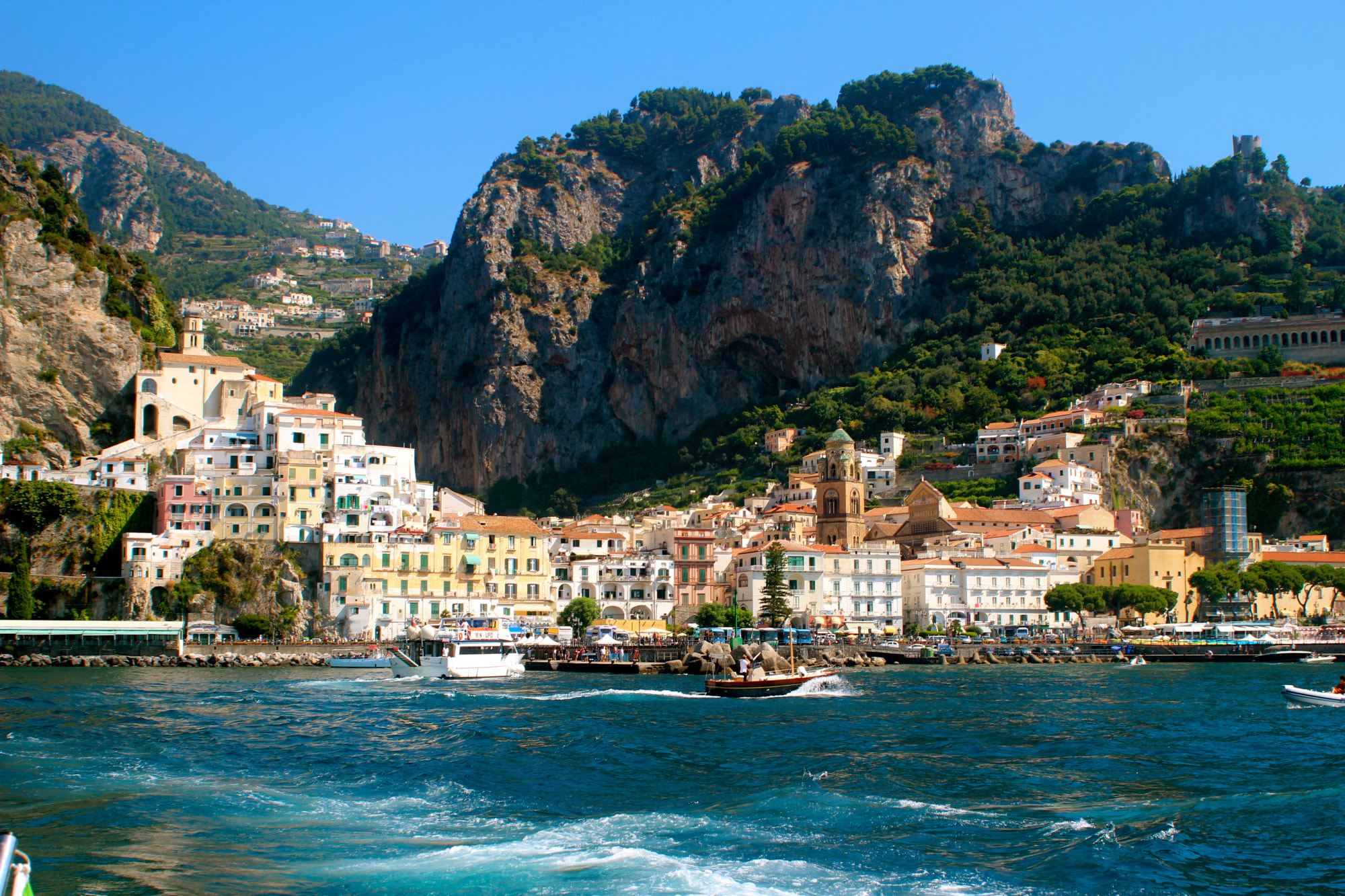 Getting to The Amalfi Coast, Italy