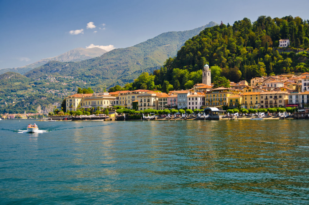 Getting to Lake Como, Italy