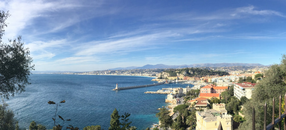 Getting to The French Riviera, France