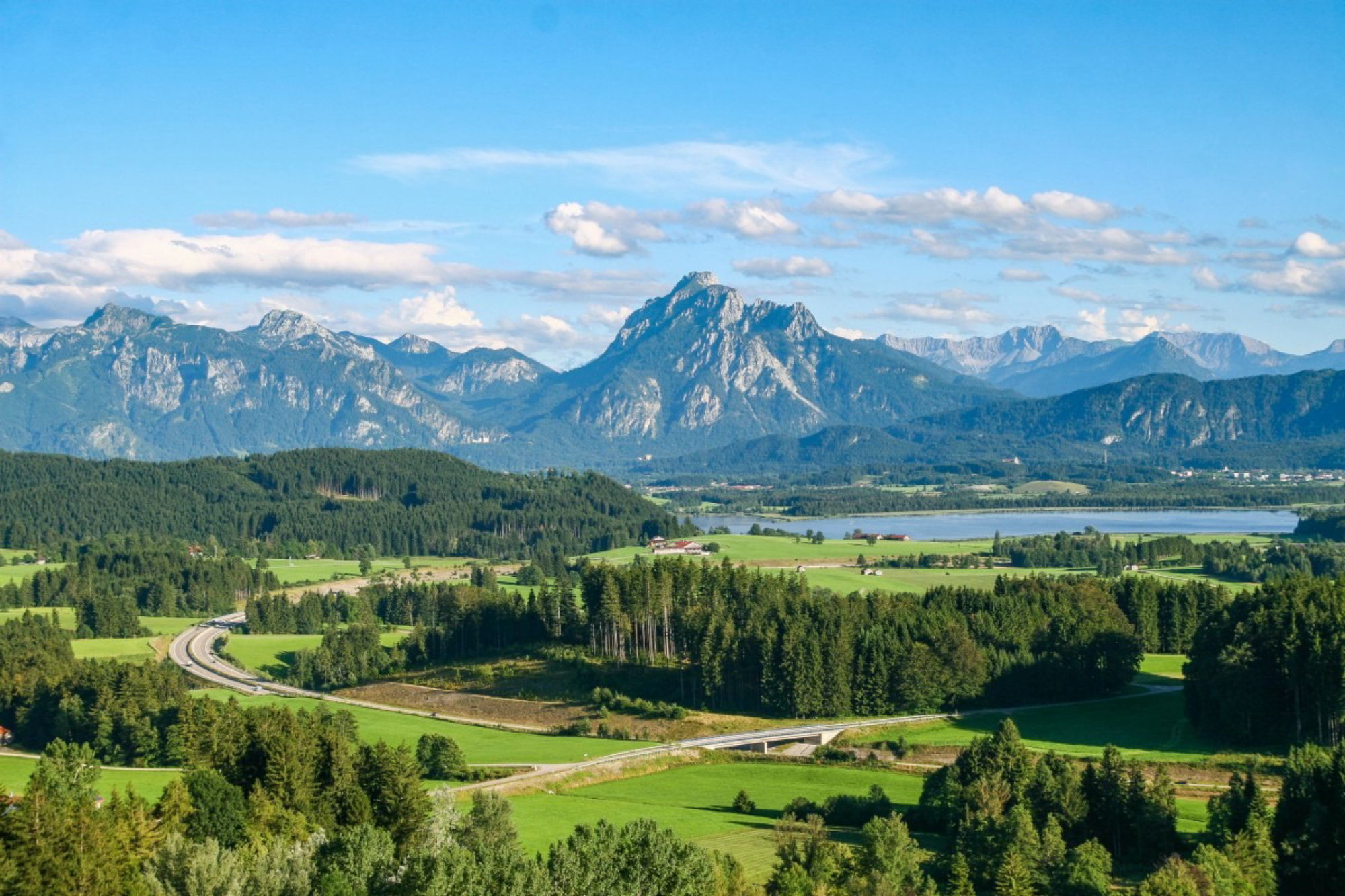 Getting to The Bavarian Alps, Germany