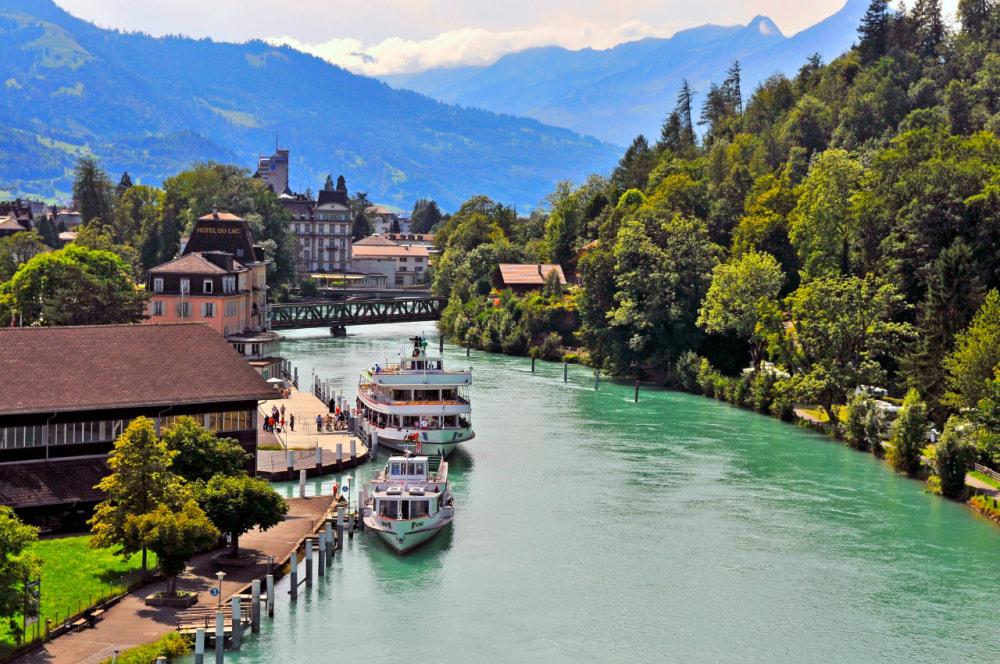 Getting to Interlaken, Switzerland