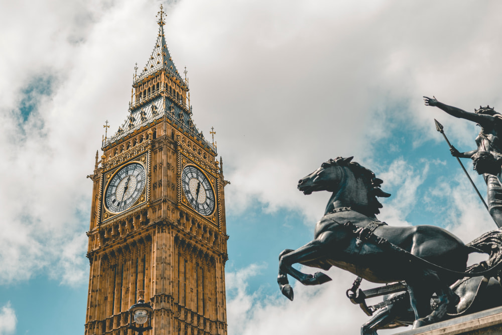 Getting to  London, United Kingdom
