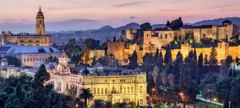 Getting to Malaga, Spain