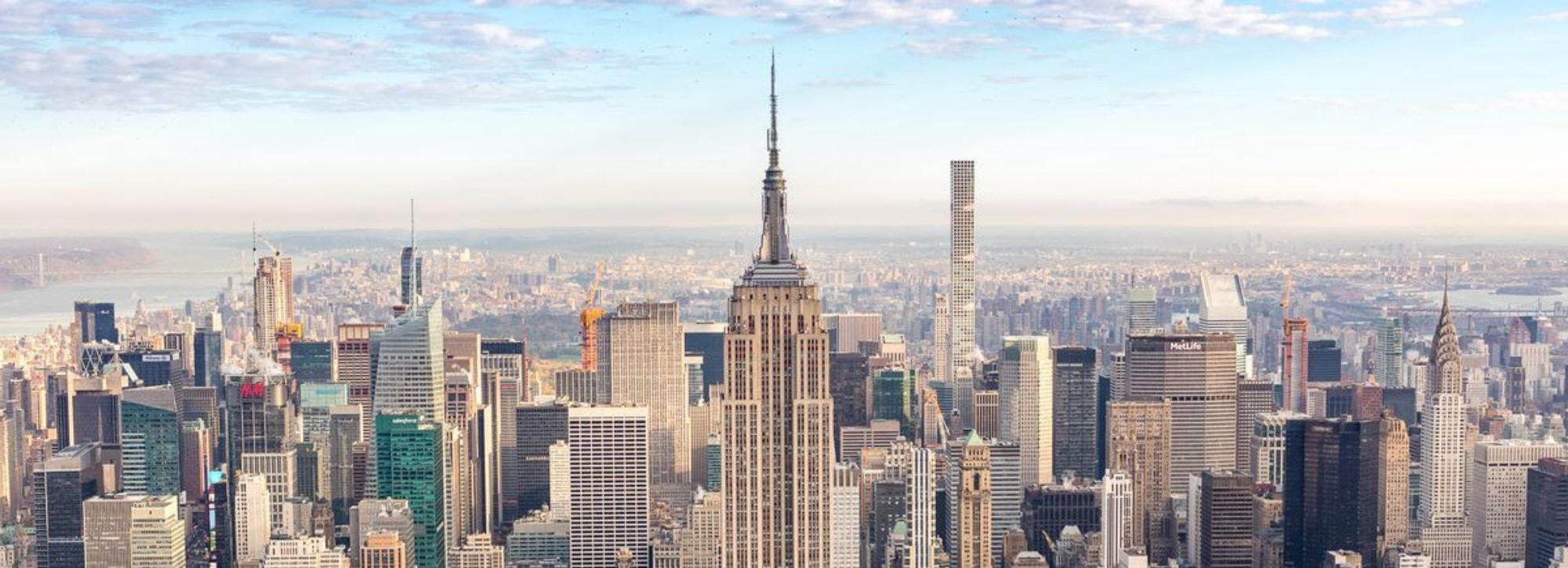 Getting to Manhattan, New York