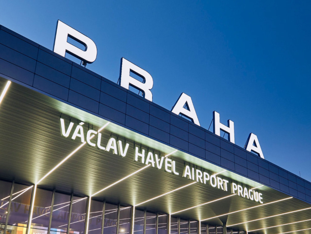 Czech Republic. Getting to Václav Havel Airport Prague