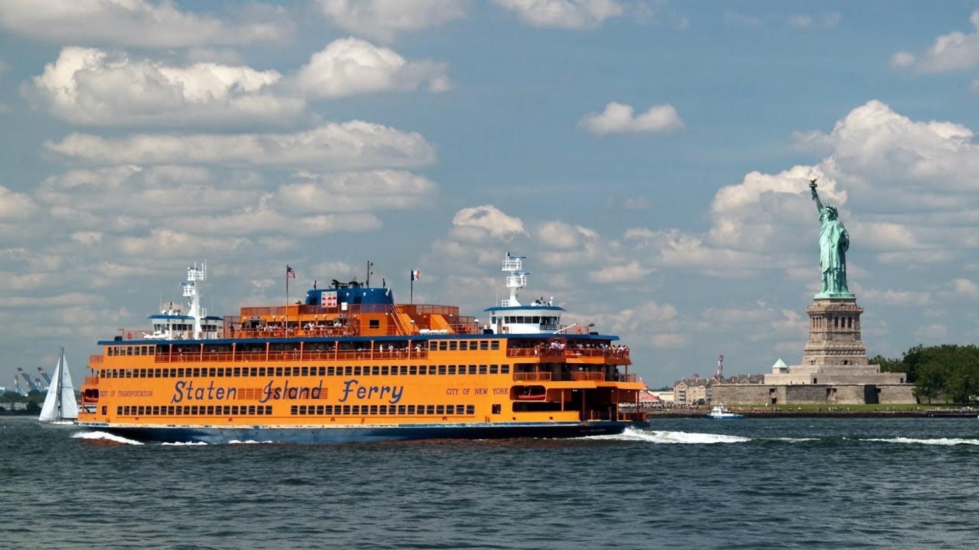 Getting to Staten Island, New York