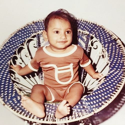 Picture of Anuj Agarwal as a baby