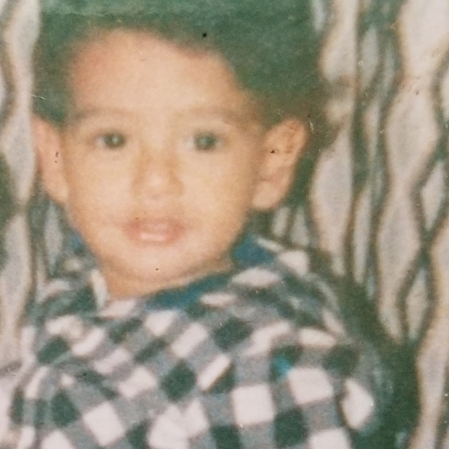 Picture of Angel Solis as a baby