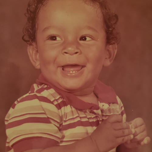 Picture of Jeenner Angulo as a baby
