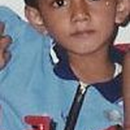 Picture of Angga Arifandi (Andy) as a baby