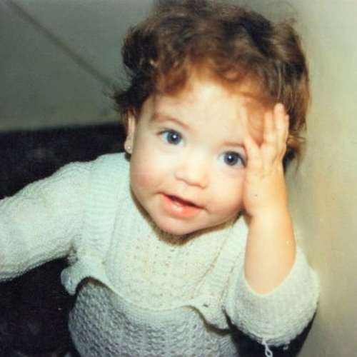 Picture of Maria del Valle Miguel as a baby