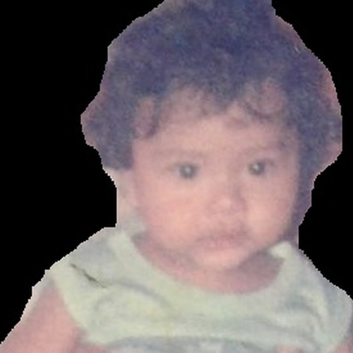 Picture of John Emanuel Ella as a baby