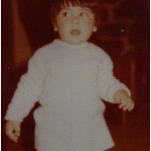 Picture of Julieta Raineri as a baby