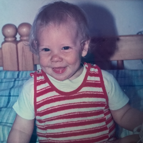 Picture of Emil Gustavsson as a baby