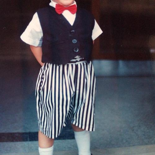 Picture of Ezequiel Garcia Anderlini as a baby
