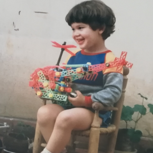Picture of Germán Zannier as a baby