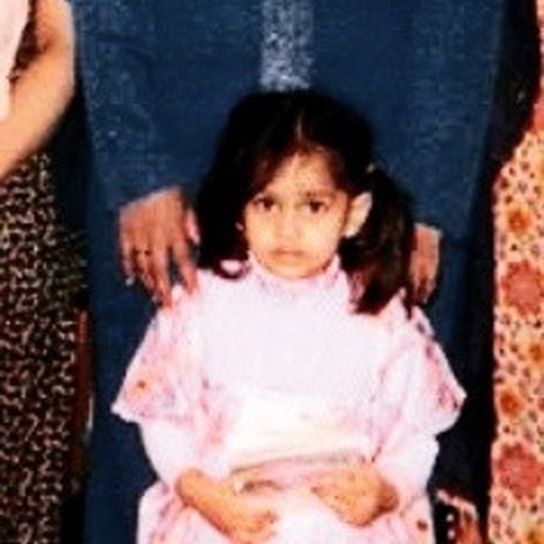 Picture of Zainabb Daud as a baby