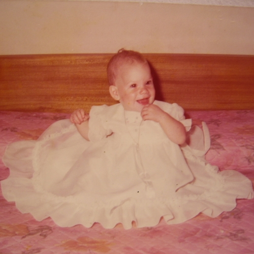 Picture of Romina Simonetti as a baby