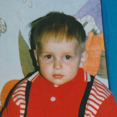 Picture of Artem Artemev as a baby