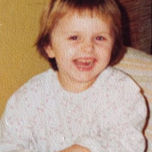 Picture of Justyna Kawalec as a baby