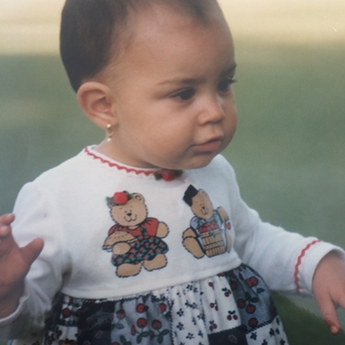 Picture of Manuela Correa as a baby